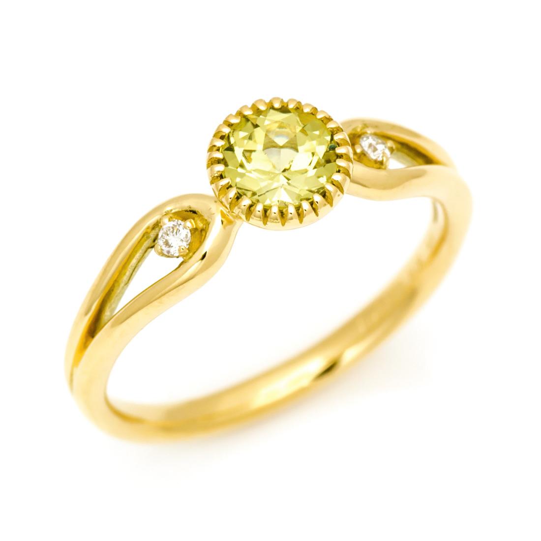 【GWクーポン配布中】K18 マリガーネット ダイヤモンド リング 「amica」送料無料 指輪 ダイアモンド ゴールド 18K 18金 誕生日 1月誕生石 刻印 文字入れ メッセージ ギフト 贈り物 ピンキーリング対応可能
