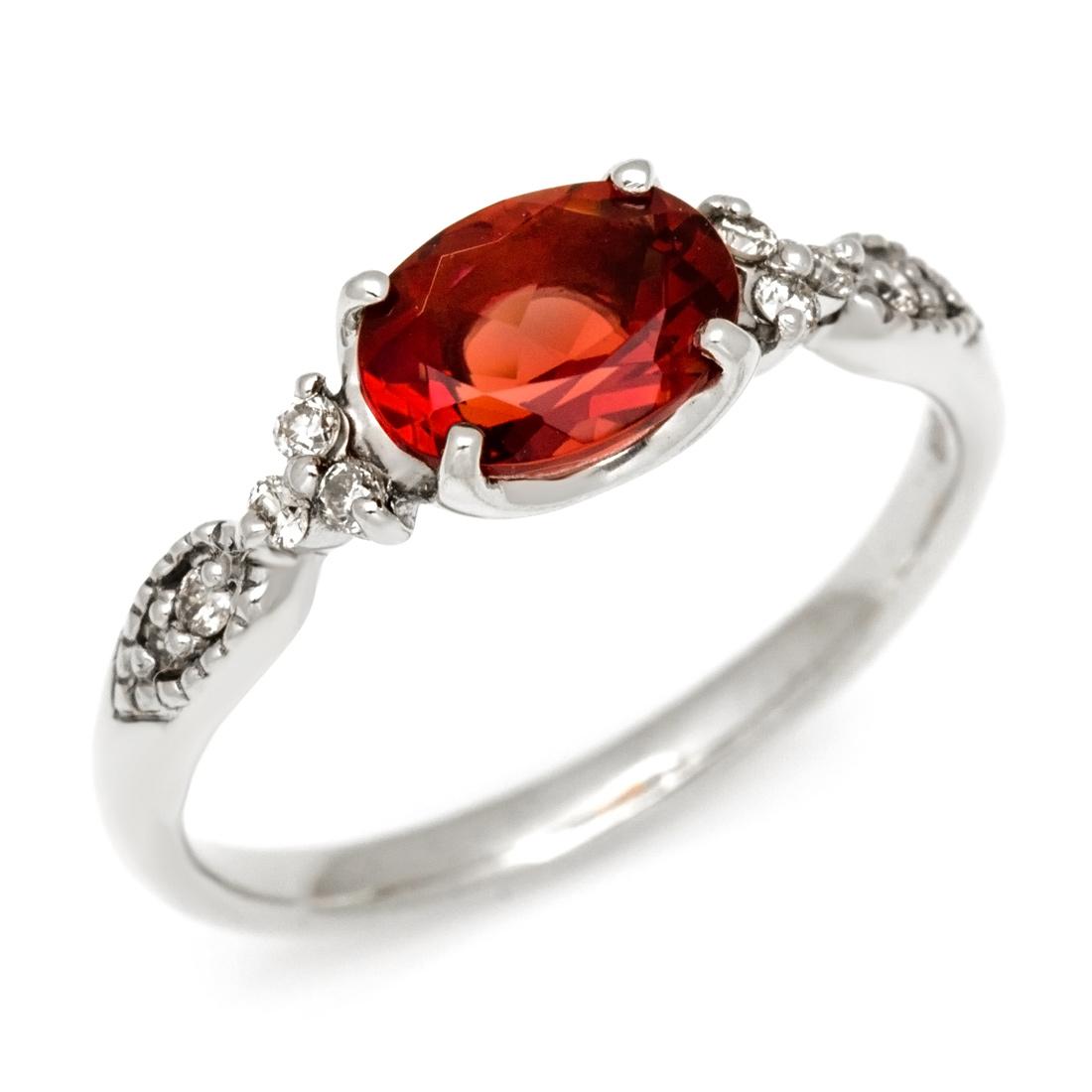 リング アンデシン ダイヤモンド 「amanza」 ゴールド K18