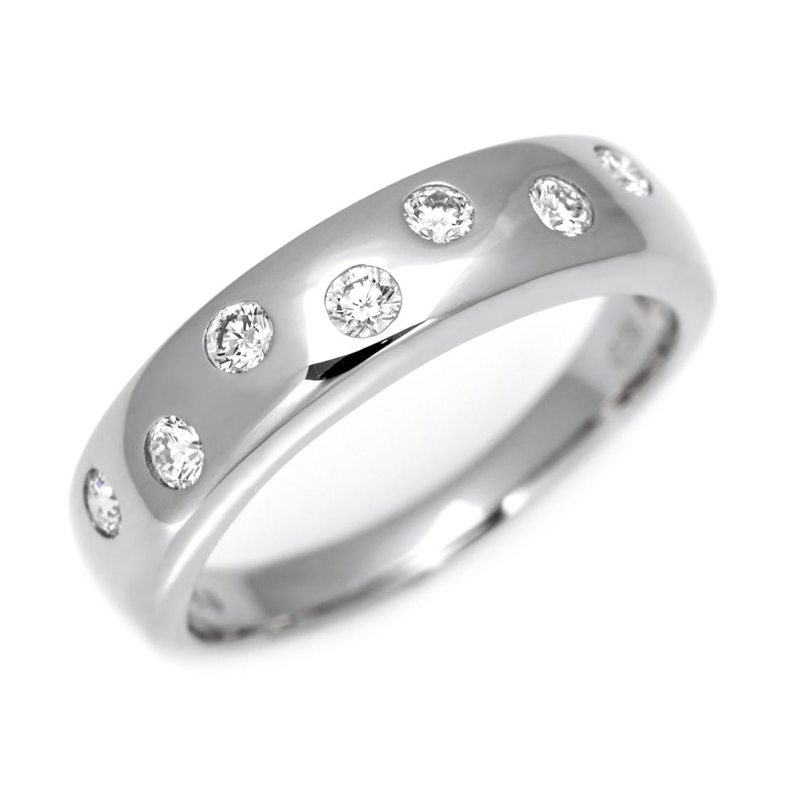 【GWクーポン配布中】K18 ダイヤモンド 0.28ct リング送料無料 指輪 18K 18金 ゴールド ダイアモンド 誕生日 4月誕生石 刻印 文字入れ ピンキーリング メッセージ ギフト 贈り物