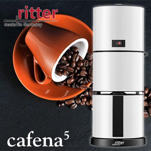 ritter/リッター コーヒーマシン「cafena5」カフェーナ5 ドイツ製 コーヒーメーカー 最大8カップ スタイリッシュデザイン
