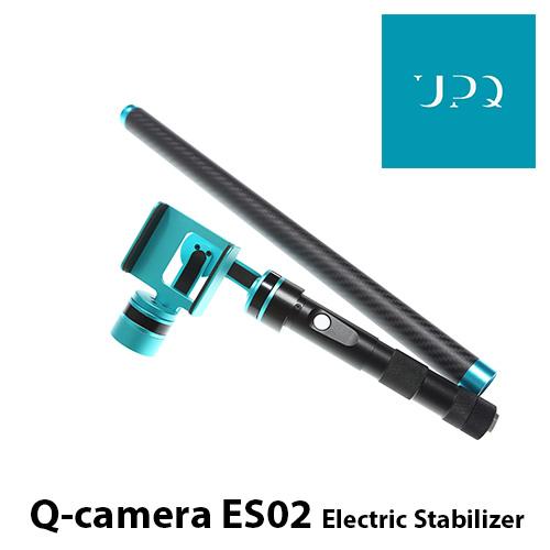 UPQ/アップ・キュー Q-camera ES02 3軸電動スタビライザー+延長バー 4.7インチスマホ対応