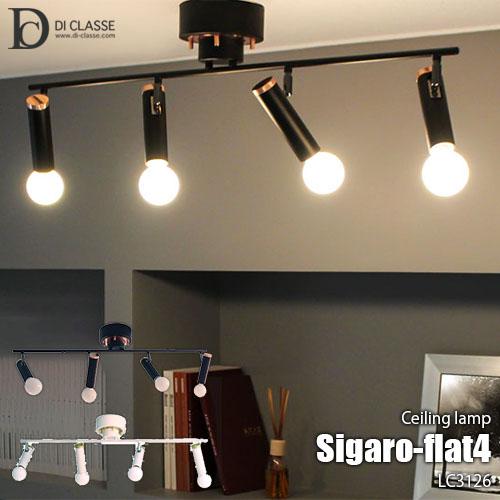 DI CLASSE/ディクラッセ Sigaro-flat4 ceiling lamp シガロ フラット4 シーリングランプ LC3126 天井照明/シーリングライト/真鍮/シンプル/LED対応