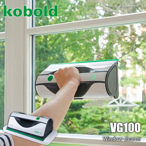 簡単ワンステップで窓掃除ができる画期的なウィンドークリーナー VORWERK フォアベルク ウィンドークリーナー kobold VG100 マイクロファイバークロス 数量限定 格安 価格でご提供いたします 簡単ワンステップ コーボルト 窓拭き