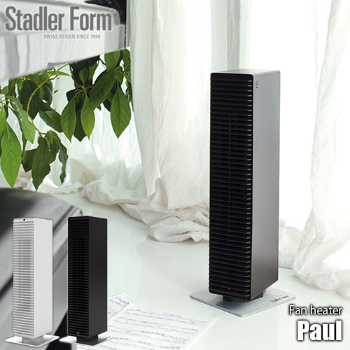 Stadler Form/スタドラーフォーム PTC Fan heater 「Paul」 PTCファンヒーター 電気ヒーター/セラミックファンヒーター/暖房/暖房器具/暖房機器/速暖/サーモスタッド機能/1200W/リモコン/転倒時自動オフ
