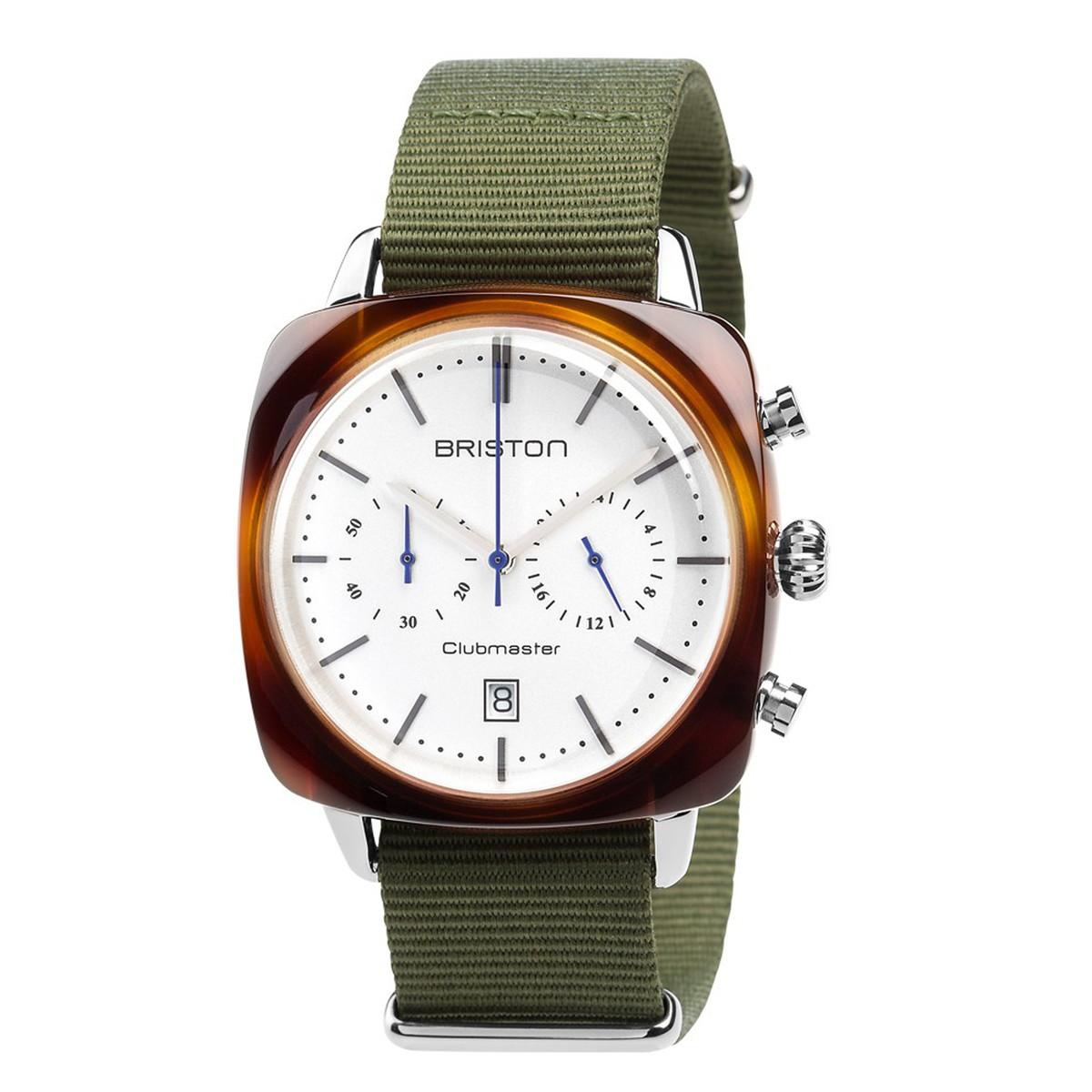 ブリストン BRISTON 公式通販 腕時計 クラブマスター ヴィンテージ クロノグラフ CLUBMASTER VINTAGE CHRONOGRAPH BLACK