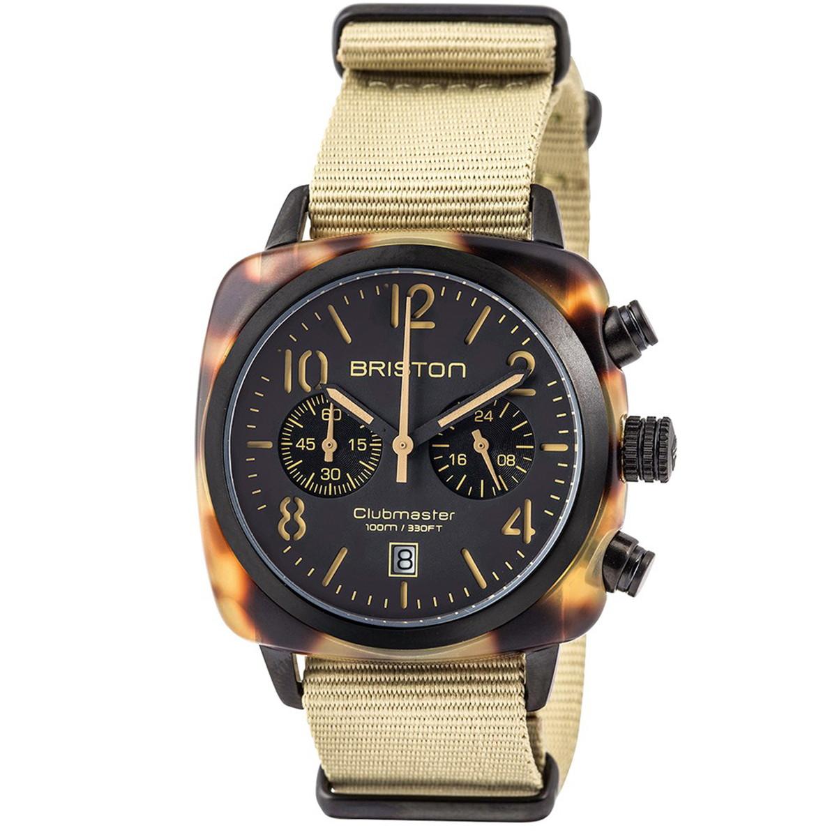 ブリストン BRISTON 公式通販 腕時計 クラブマスタークラシック クロノグラフ CLUBMASTER CLASSIC CHRONOGRAPH SAFARI WATCH