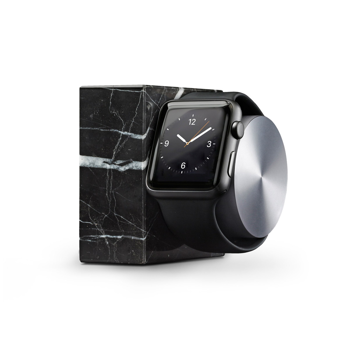 NATIVE UNION ネイティブユニオン Apple Watch Marble Dock - BLACK