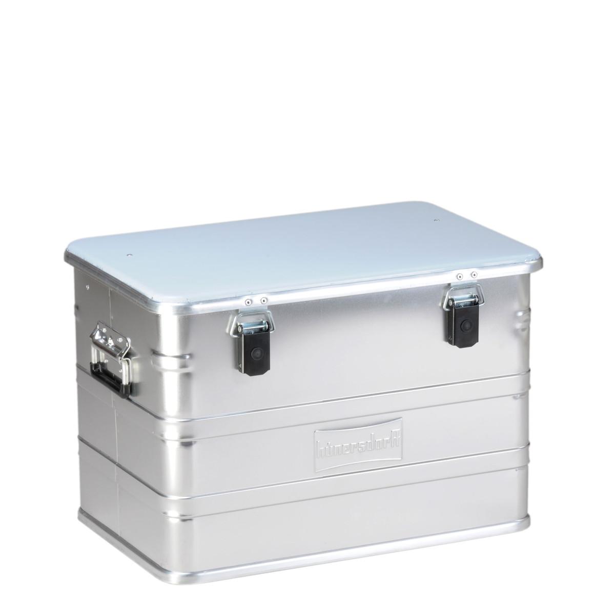 Hunersdorff ヒューナースドルフ ALUMINIUM PROFI BOX 76L アルミコンテナ