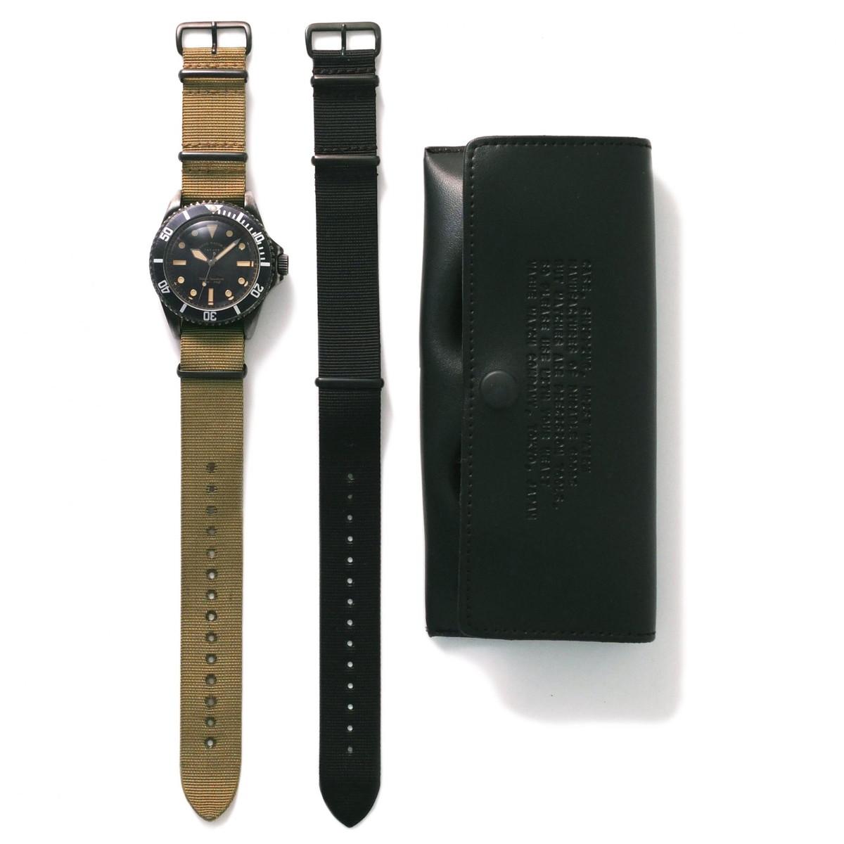 VAGUE WATCH ヴァーグ ウォッチ - VAGUE WATCH BLK SUB 腕時計
