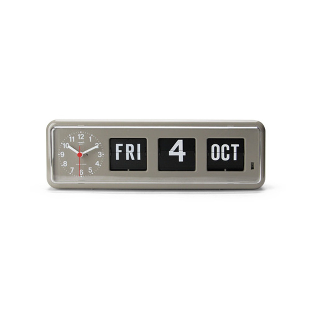 DETAIL INC. - TWEMCO CALENDAR CLOCK BQ-38 GYカレンダー付き時計