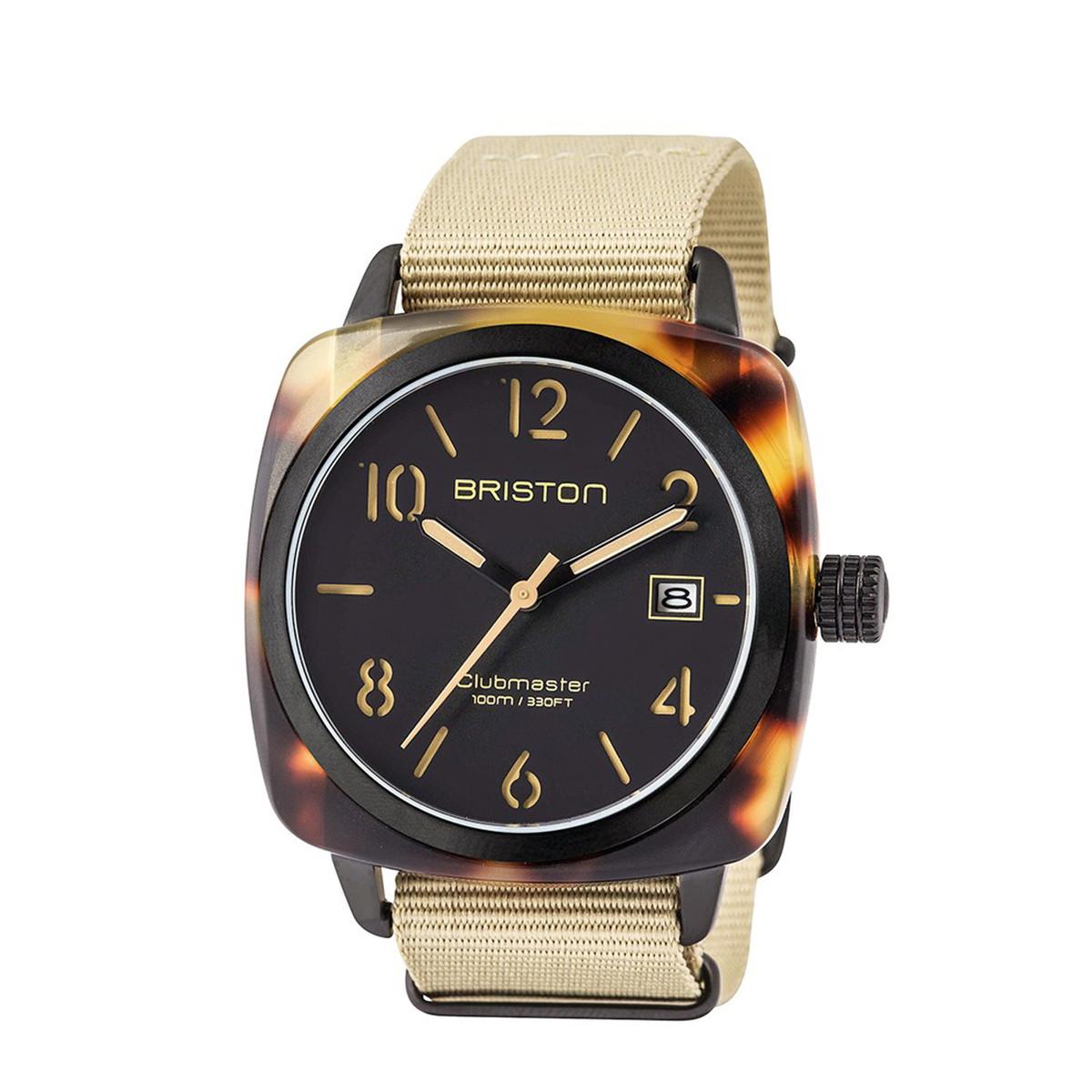 ブリストン BRISTON 公式通販 腕時計 クラブマスター クラシック CLUBMASTER CLASSIC HMS DATE SAFARI WATCH