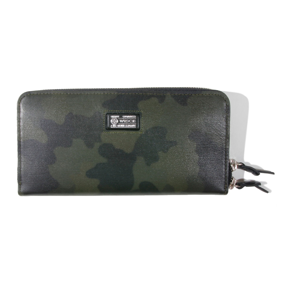 WISCE (ワイス)  CAMOUFLAGE LEATHER  LONG WALLET / 長財布
