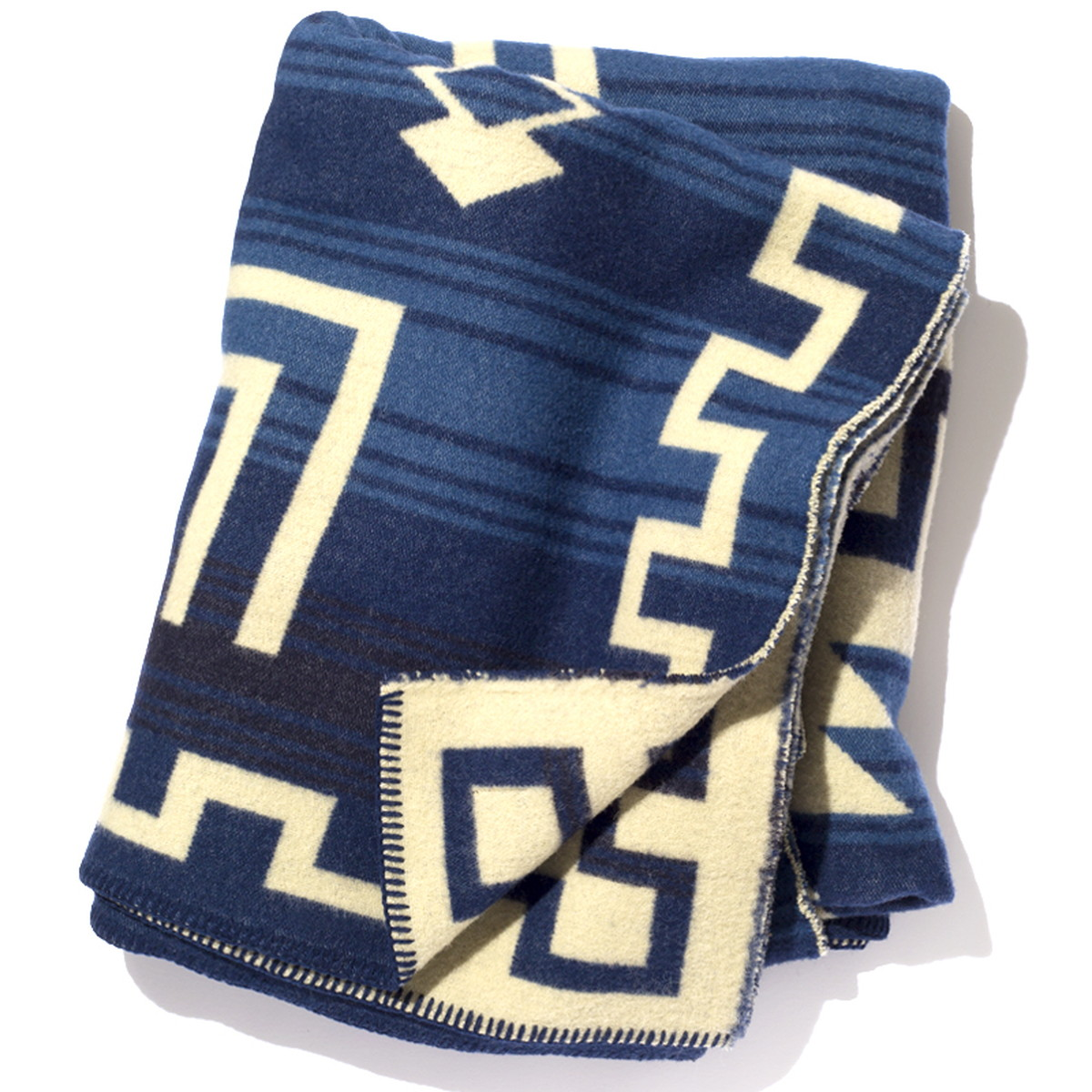 BasShu バッシュ ブランケット IZM woolen mills Blanket / Jacquard BL