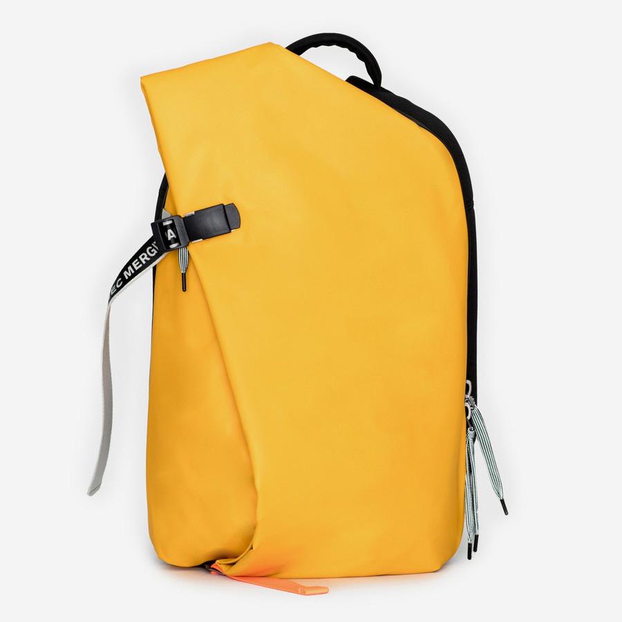 cote&ciel コートエシエル Isar M Ochre Yellow バックパック リュックサック コートアンドシエル コートシエル リュック