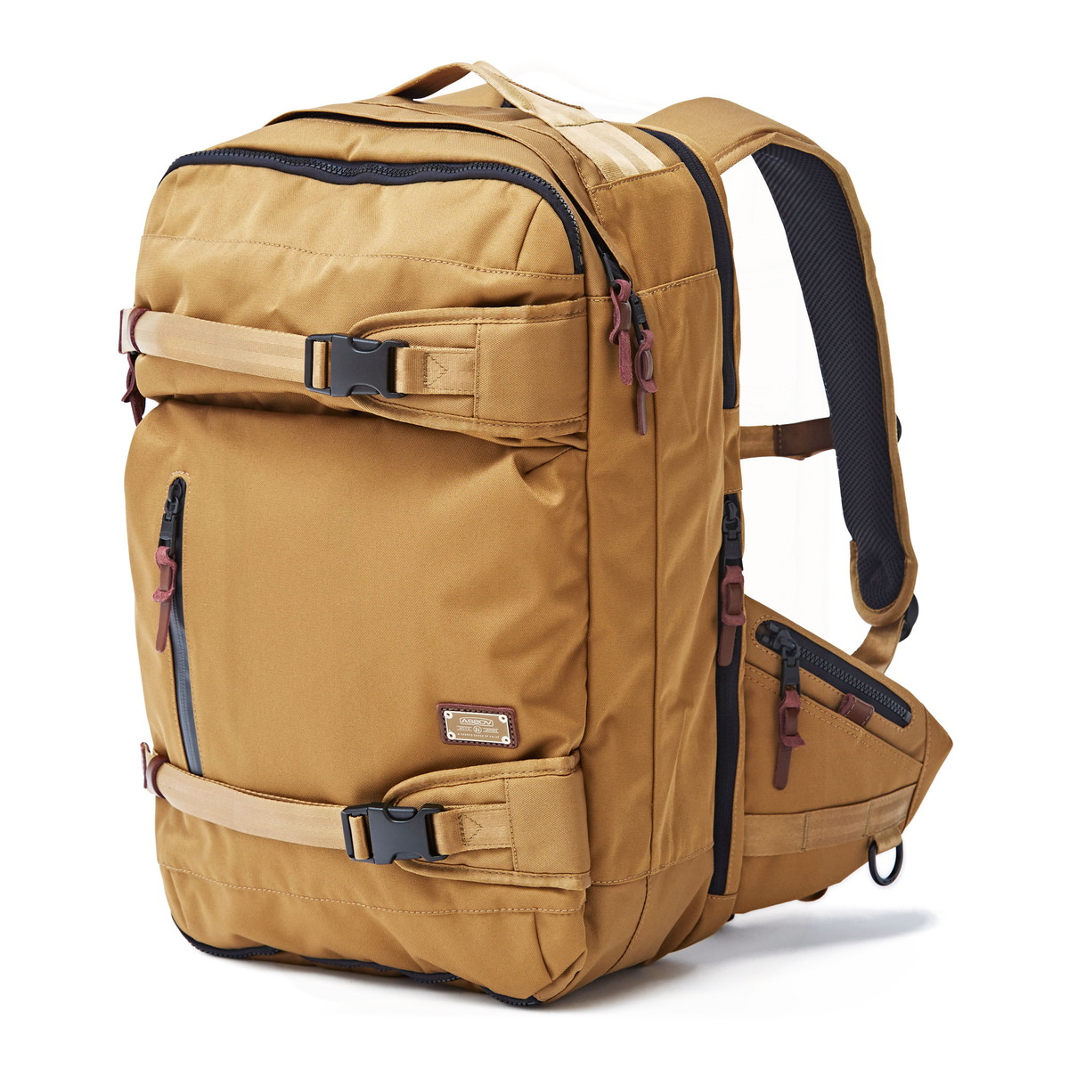 アッソブ公式通販 / AS2OV (アッソブ) バックパック リュックサック アウトドアバッグ 旅行バッグ CORDURA DOBBY 305D 3WAY BACK PACK M KHAKI 061408