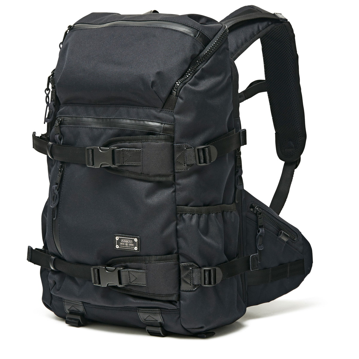 AS2OV公式通販 / AS2OV (アッソブ) バックパック リュックサック CORDURA DOBBY 305D ROUND ZIP BACK PACK BLACK 061409