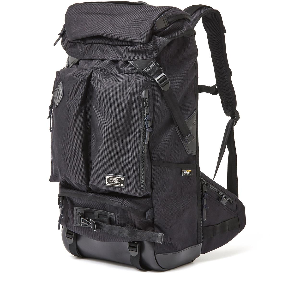 アッソブ公式通販 / AS2OV (アッソブ) バックパック リュックサック ビジネスバッグ アウトドアバッグ 旅行バッグEXCLUSIVE BALLISTIC NYLON 2POCKET BACK PACK 061307