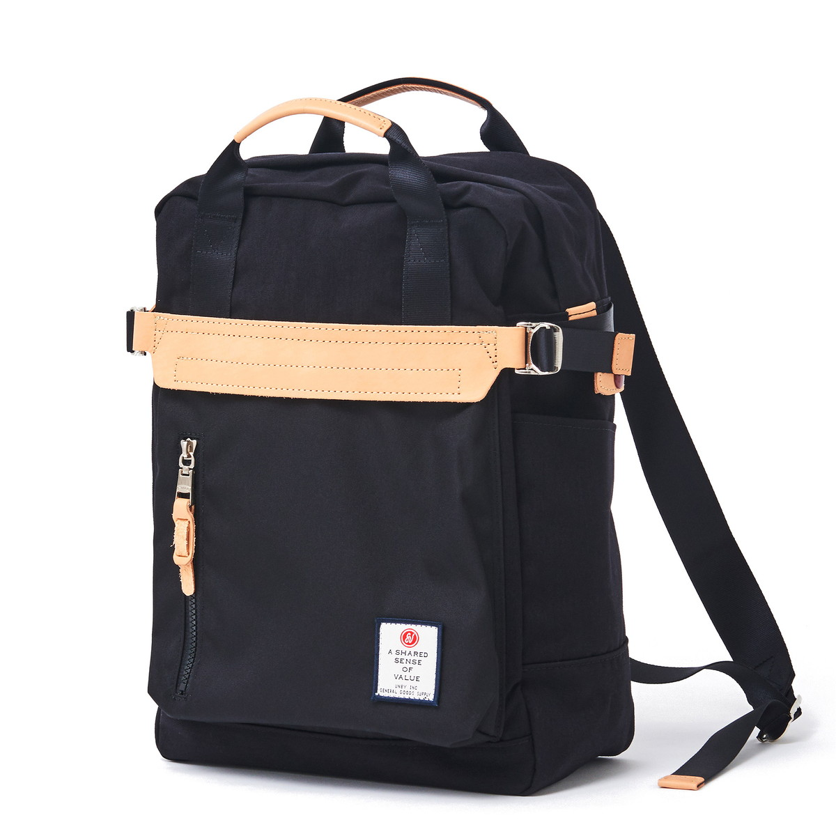AS2OV (アッソブ) HI DENSITY CORDURA NYLON BOX BACK PACK / バックパック 091406