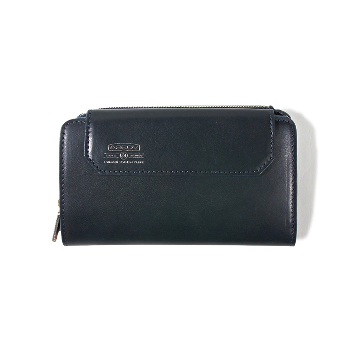 AS2OV (アッソブ) レザー 折財布 ショートウォレット LEATHER MOBILE WALLET SHORT WALLET 081601