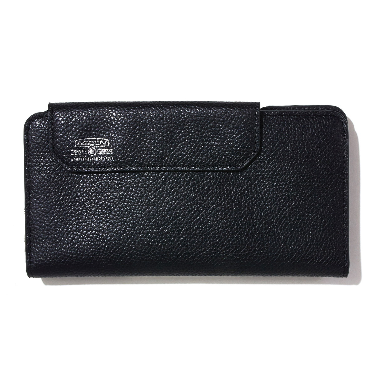 AS2OV (アッソブ) レザー 長財布 ロングウォレット SHRINK LEATHER MOBILE WALLET LONG WALLET 081700