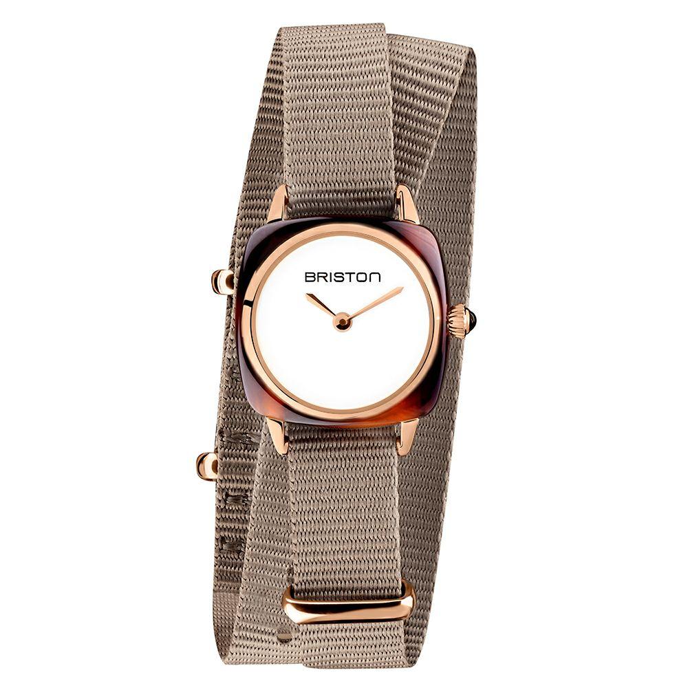 BRISTON ブリストン CLUBMASTER LADY ACETATE GOLD / レディース 腕時計