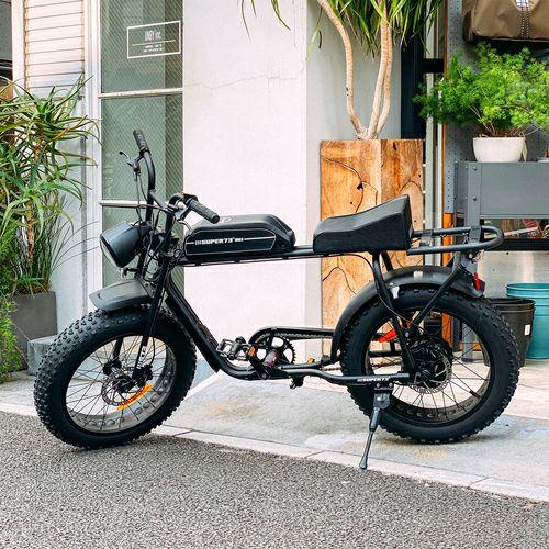 REGALITH レガリス SUPER73S1G-BLACK 電動自転車