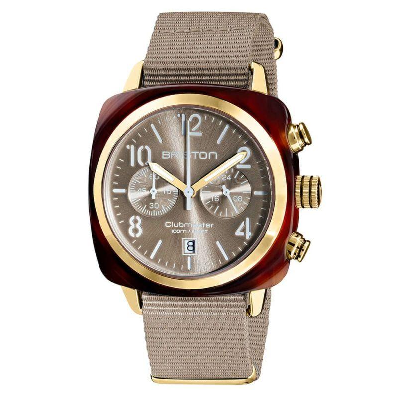 BRISTON ブリストン 公式通販 CLUBMASTER ACETATE GOLD / 腕時計