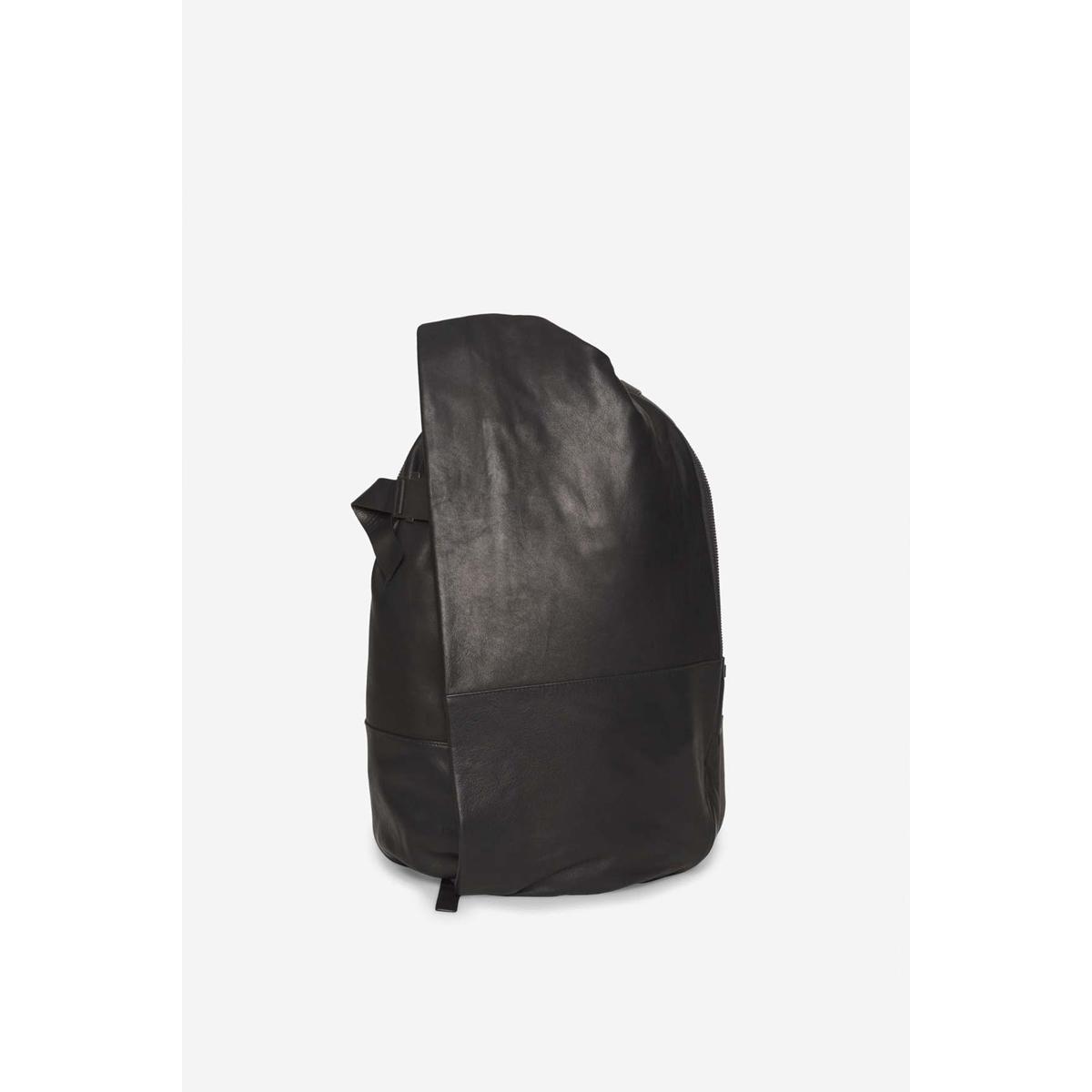 cote&ciel コートエシエル Isar Medium Alias Cowhile Leather Agate Black バックパック リュック 通勤 PC収納 コートアンドシエル コートシエル