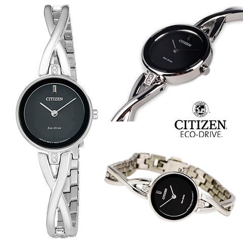 シチズン エコドライブ シチズン ソーラー時計 シチズン 腕時計 ウォッチ レディース 逆輸入 海外モデル CITIZEN ECO DRIVE EX1420-50E 海外取寄せ 送料無料