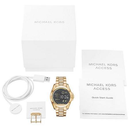 ラスト1点限り マイケルコース 時計 レディース スマートウォッチ mIchael kors watch mIchaelrs 時計 マイケルコース 腕時計 レディース MKT5002 インポート 誕生日 ギフト プレゼント 彼女 ゴールド あす楽