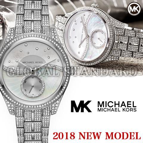 マイケルコース 時計 マイケルコース 腕時計 レディース MK3755 Michael Kors インポート MK3724 MK3757 MK3723 同シリーズ 2018最新作 海外取寄せ 送料無料