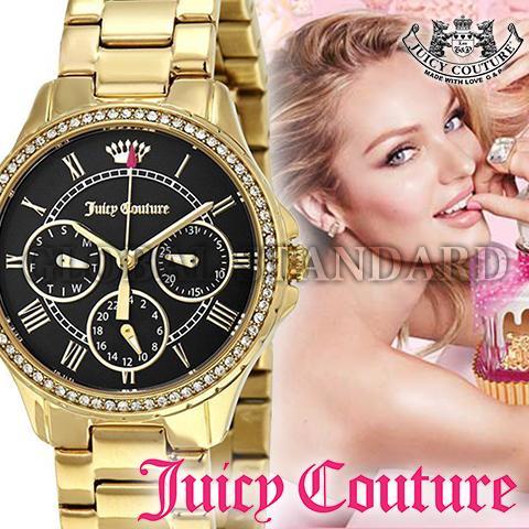 ジューシークチュール 時計 ジューシークチュール 腕時計 レディース Juicy Couture インポート 1901437 イエローゴールド 海外取寄せ 送料無料