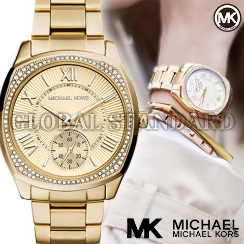 マイケルコース 時計 マイケルコース 腕時計 レディース MK6134 Michael Kors インポート MK6135 MK2385 MK2388 MK6136 MK6133 同シリーズ 海外取寄せ 送料無料