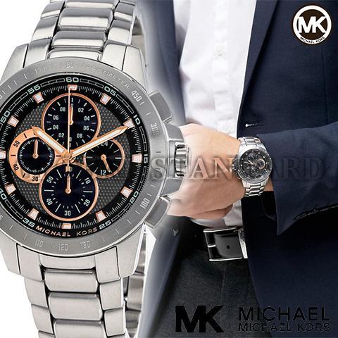 マイケルコース 時計 マイケルコース 腕時計 メンズ Michael Kors MK8528 インポート MK8520 MK8529 MK8521 同シリーズ 海外取寄せ 送料無料