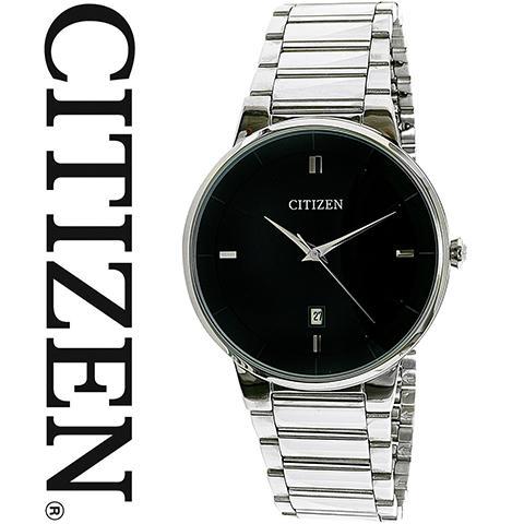 シチズン 腕時計 時計 ウォッチ メンズ 逆輸入 海外モデル Corso コルソ シルバーブラック CITIZEN BI5010-59E 海外取寄せ 送料無料