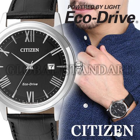 シチズン エコドライブ シチズン ソーラー時計 シチズン 腕時計 ウォッチ メンズ 逆輸入 海外モデル CITIZEN ECO DRIVE AW1231-07E 海外取寄せ 送料無料