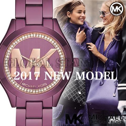 マイケルコース 時計 マイケルコース 腕時計 レディース MK3764 Michael Kors インポート 海外取寄せ 送料無料 パープル