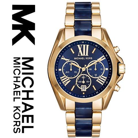 ラスト1点限り マイケルコース 時計 michaelkors 腕時計 マイケル コース 腕時計 michael kors 時計 マイケルコース時計 ブラッドショー レディース MK6268 人気 ブランド 女性 彼女 妻 嫁 プレゼント かわいい おしゃれ ゴールド ブルー サファイア あす楽 送料無料