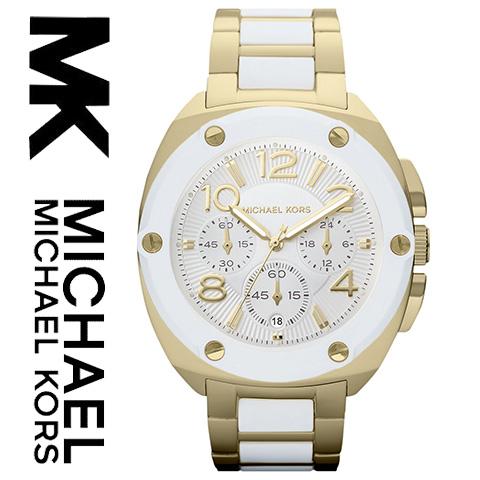 【海外取寄せ】マイケルコース Michael Kors 腕時計 時計 MK5731【セレブ】【ブランド】【インポート】ゴールド ホワイト MK5769 MK5593 同シリーズ