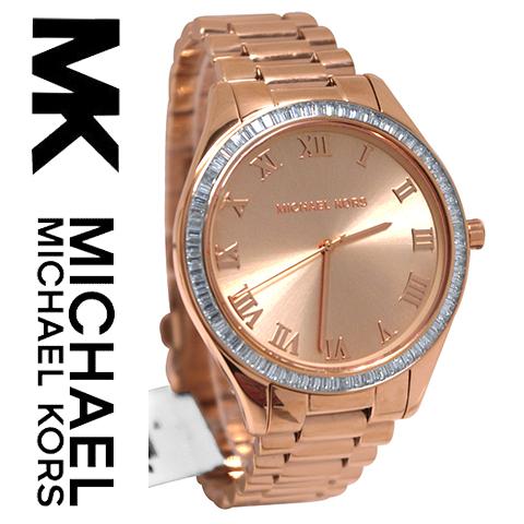 【海外取寄せ】【2014最新作】【人気上昇ブランド】マイケルコース Michael Kors 腕時計 時計 ウォッチ MK3245【セレブ】【ブランド】【インポート】【ピンクゴールド】