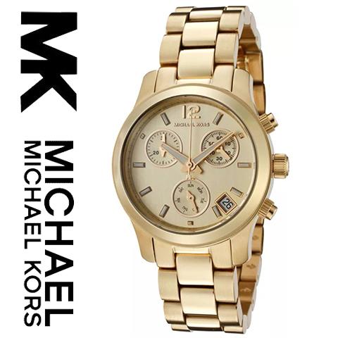 【海外取寄せ】【送料無料】マイケルコース Michael Kors 腕時計 時計 MK5384【セレブ】【インポート】【ブランド】【ゴールド】