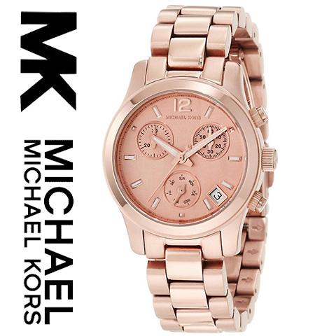 【海外取寄せ】【送料無料】マイケルコース Michael Kors 腕時計 時計 MK5430【セレブ】【インポート】【ブランド】【ピンクゴールド】