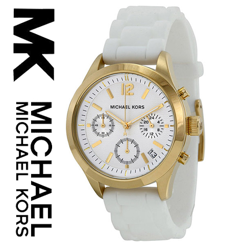 【海外取寄せ】【送料無料】【人気上昇ブランド】マイケルコース Michael Kors 腕時計 時計 MK5406【セレブ】【インポート】【ブランド】【ホワイト】