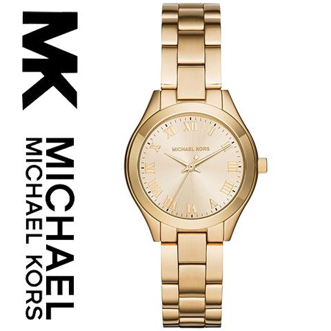 【海外取寄せ】【2016最新作】【送料無料】マイケルコース Michael Kors 腕時計 時計 MK3456 【セレブ】【インポート】【ゴールド】MK3477 同シリーズ