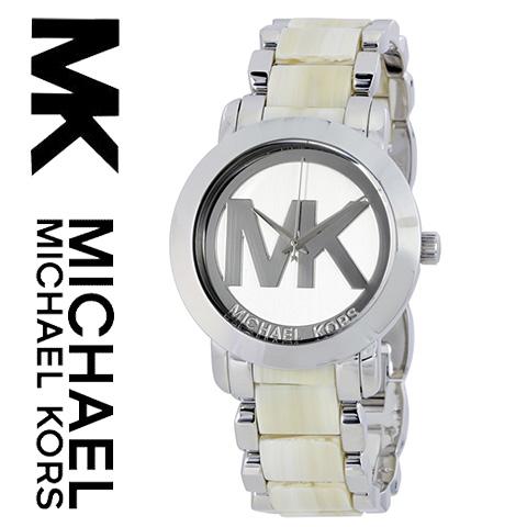 【海外取寄せ】【2016最新作】【送料無料】マイケルコース Michael Kors 腕時計 時計 MK4304【セレブ】【インポート】【MKマーク】【シルバー】