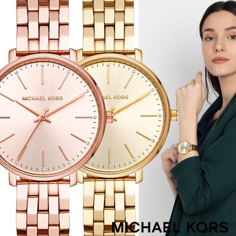 2018最新作 マイケルコース 時計 MIchael kors watch MIchael kors 時計 マイケルコース 腕時計 レディース MK3897 MK3898 誕生日 ギフト プレゼント 彼女 ゴールド 海外取寄せ