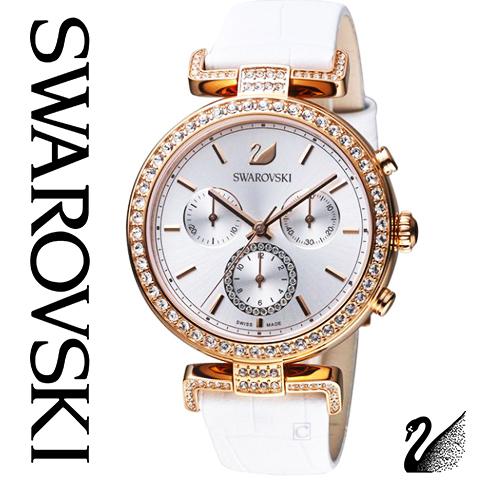 スワロフスキー 時計 レディース スワロフスキー 腕時計 SWAROVSKI 時計 SWAROVSKI 腕時計 シトラ スフィア 5295369 スワロフスキークリスタル ホワイト ピンクゴールド レザー スワロフスキー ネックレス や スワロフスキー ピアスのお供に 海外取寄せ 送料無料