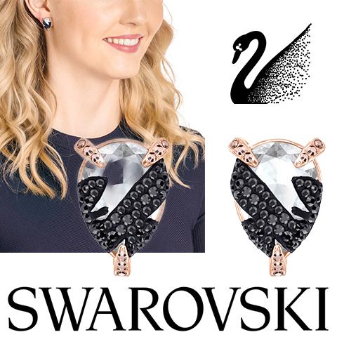 スワロフスキー ピアス レディース スワロフスキー イヤリング SWAROVSKI 5446241 スワロフスキークリスタル スイスメイド ピンク シルバー 人気 ブランド 誕生日 女性 彼女 プレゼント ギフト かわいい バレンタイン 海外取寄せ 送料無料