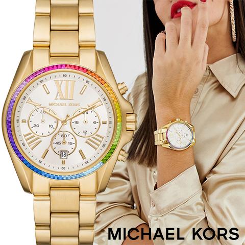 ラスト1点 あす楽 送料無料【キャッシュレス決済5%還元】マイケルコース 時計 MIchael kors watch MIchael kors 時計 マイケルコース 腕時計 レディース MK6583 インポート 誕生日 ギフト プレゼント 彼女 ゴールド