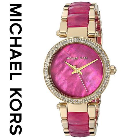 マイケルコース 時計 レディース マイケルコース 腕時計mIchael kors watch MK6490 インポート 誕生日 ギフト プレゼント 彼女 ゴールド ピンク 海外取寄せ 送料無料